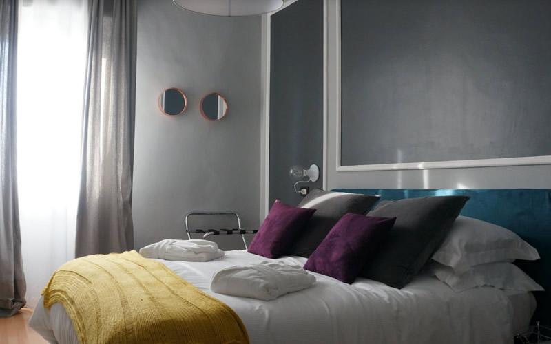 Camera matrimoniale Hotel Stella d'Italia a Rimini