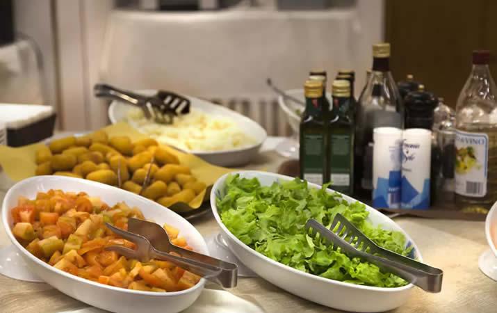 Cena a buffet ristorante
