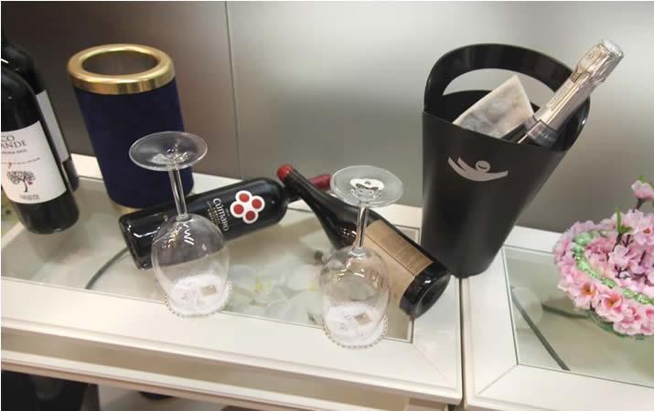 Champagne e vino