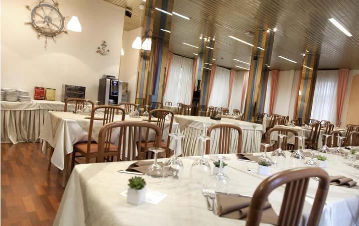 Sala ristorante a Rimini